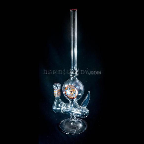 clear inline with inlay and horn